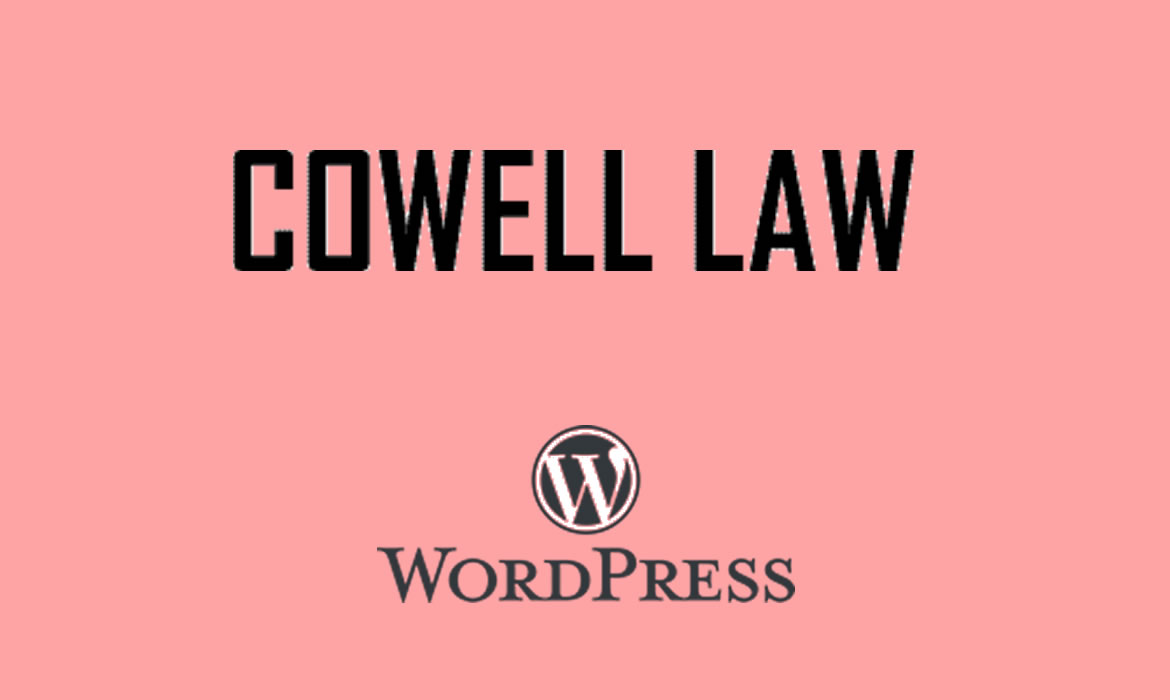 Cowell Law – WordPress